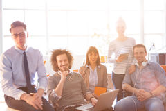Group of successfull business group meeting Stock Photo