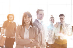 Group of successfull business group meeting Stock Photos
