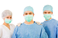 Group of surgeons Royalty Free Stock Photo
