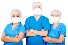 Group of surgeons Royalty Free Stock Photography