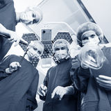 Group of surgeons Royalty Free Stock Image