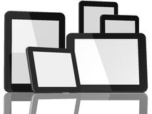 Group of Tablet Computers Royalty Free Stock Image