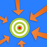 Group target Stock Photography