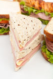 Group of Tasty Sandwiches Royalty Free Stock Images