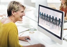Group Team Work Organization Concept Stock Photography