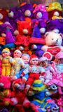 The group of teddy bears royalty free stock images