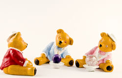 Group of Teddys Royalty Free Stock Photos