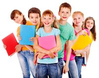 Group of teen people. Royalty Free Stock Photo