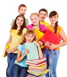 Group of teen people. Royalty Free Stock Images