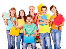 Group of teen people. stock images