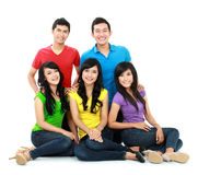 Group of Teenager Friends Stock Photos