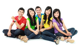 Group of Teenager Friends Royalty Free Stock Photo