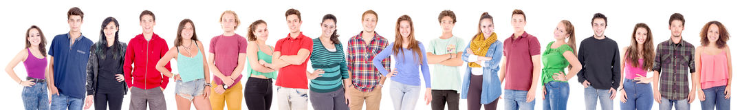 Group of teenager Stock Photography
