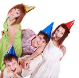 Group of teenagers Royalty Free Stock Photography