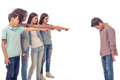 Group of teenagers Stock Photos