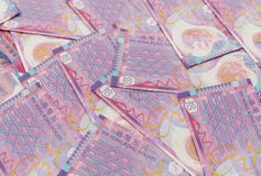 Group of ten Hong Kong dollar Stock Photo