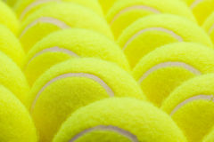Group of Tennis Balls Royalty Free Stock Image