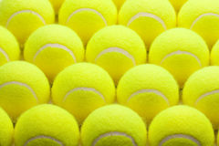 Group of Tennis Balls Royalty Free Stock Photos