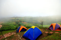 Group of tent Stock Photography