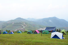 Group of tent Stock Images