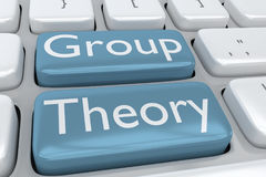 Group Theory concept Stock Photo