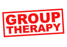 GROUP THERAPY Stock Photography