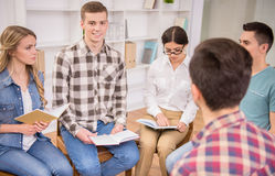 Group therapy Royalty Free Stock Photography