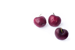 Group of three cold cherry Stock Image