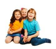 Three best friends Stock Photos
