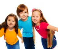 Party with little kids Royalty Free Stock Images