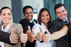 Group thumbs up Royalty Free Stock Photography