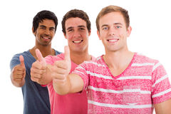 Group thumbs up Royalty Free Stock Photos