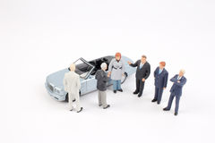 Group of tiny business people Royalty Free Stock Photography