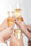 Group toast Stock Photo