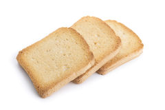 Group toast crackers for breakfast. Stock Images