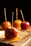 Group Of Toffee Apples Stock Images