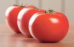 Group of tomatoes Stock Photography