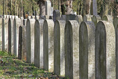Group of tombstones Stock Photos