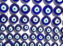 A group of traditional Turkish Amulet Evil Eye Royalty Free Stock Images