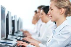 Group training Stock Image