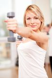 Group training in a fitness center Stock Photography