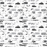 Group transport pattern Stock Photos