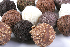 Group of Truffles Royalty Free Stock Images