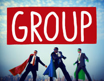 Group Union Team Organization Partnership Concept Stock Images