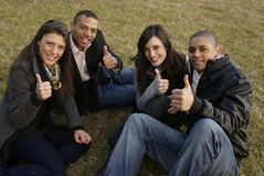 Group of university students Stock Photography