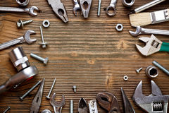 Group of used tools Stock Image