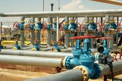 Group valves. Royalty Free Stock Photo