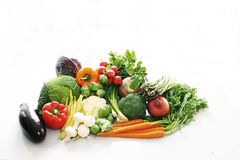 Group of vegetables Royalty Free Stock Images