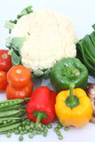 Group of Vegetables. Group different coloured vegetables Royalty Free Stock Photography
