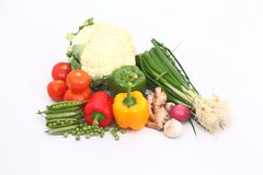 Group of Vegetables Stock Photography